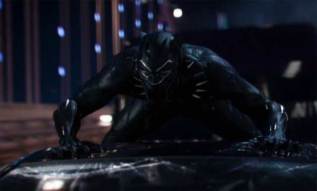 Top 5 Amazing screen shots of Black Panther