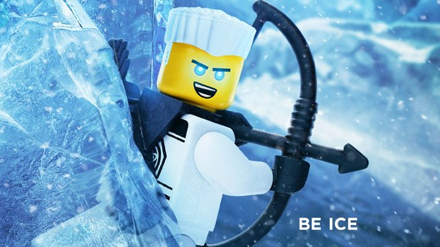 Another one of the LEGO Ninajo Movie characters is Zane.