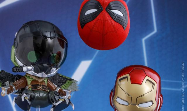Spider-Man: Homecoming Cosbaby Figures Revealed by Hot Toys