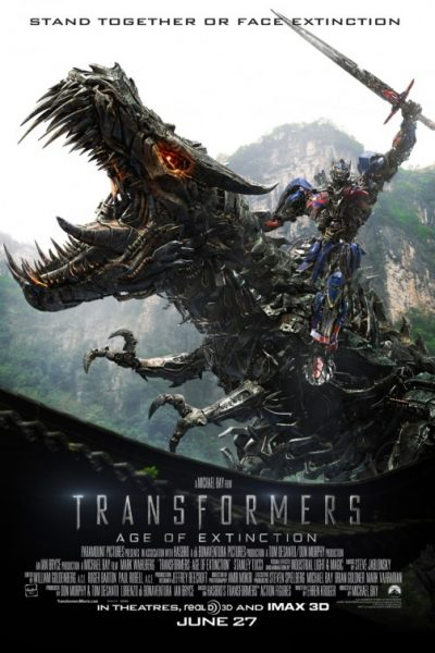 Age of Extinction was the most recent chapter in the Transformers story.