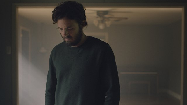 Casey Affleck stars in A Ghost Story. A Ghost Story hits theaters July 7.