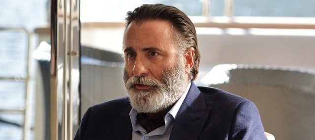 Andy Garcia has just been cast as Ricardo Montalbán in My Dinner With Hervé