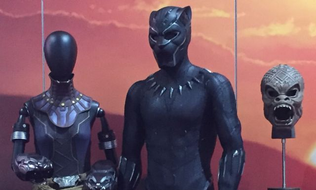 Black Panther Costumes on Display at Comic-Con