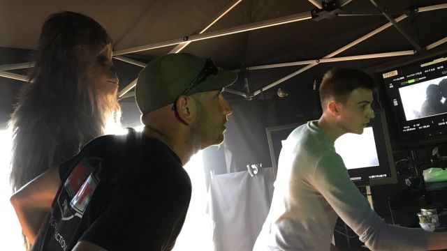 Ron Howard Shares Chewbacca's Close Up in Han Solo Set Photo