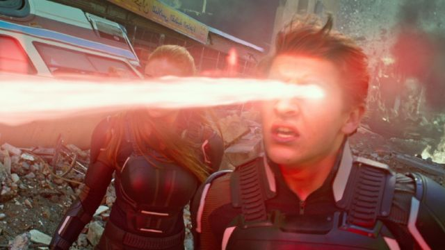 X-Men: Dark Phoenix Set Photos Show Off New Cyclops Visor