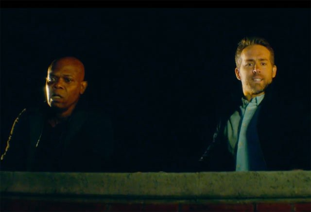 Reynolds and Jackson in the new Hitman's Bodyguard trailer