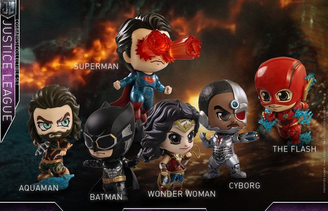 Justice League Cosbaby Series Revealed at Comic-Con