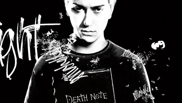 New Death Note Character Poster Featuring Light
