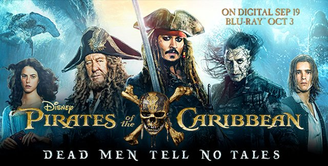 Pirates of the caribbean digital 4k ultra and blu ray release - Pirates of the caribbean images hd ...