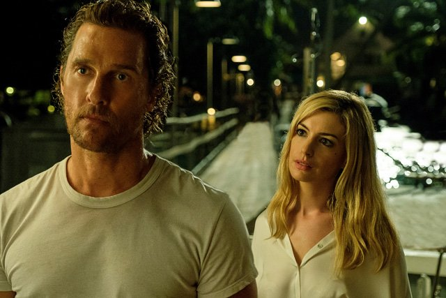 Interstellar Stars McConaughey and Hathaway Reunite in Serenity Photo