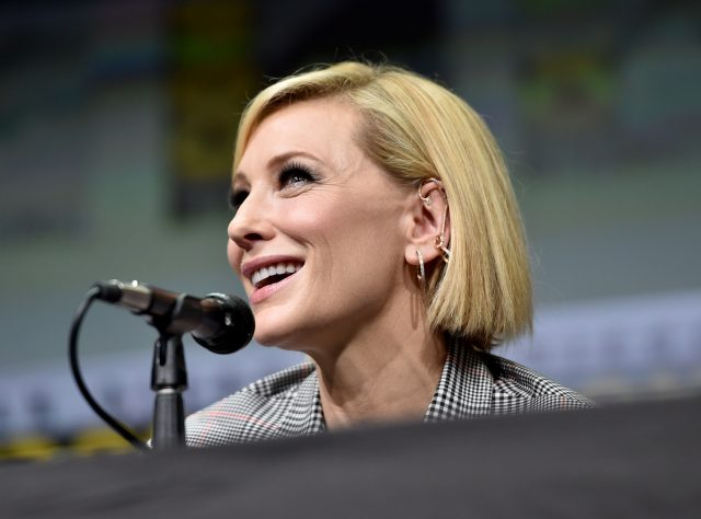 Cate Blanchett is in early talks to join Jack Black in The House with a Clock in Its Walls