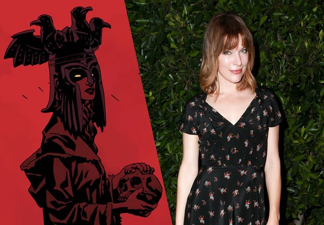 Blood Queen to be Play... Milla Jovovich Hellboy Reboot