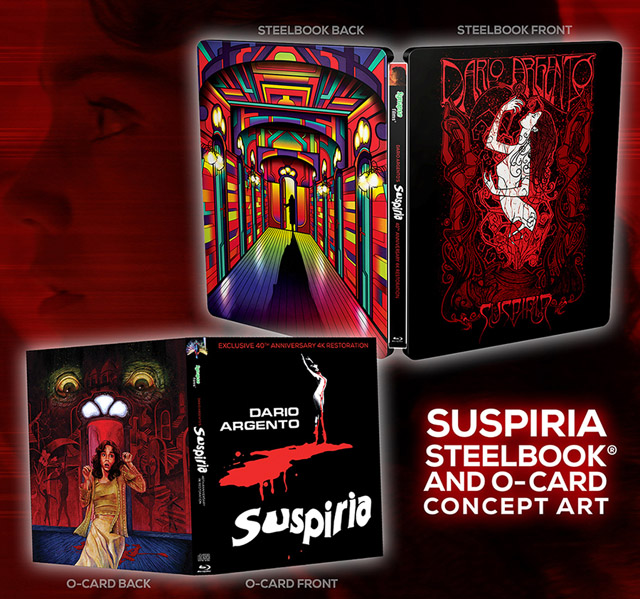 Suspiria 4K Blu-ray Now Available for Pre-Order