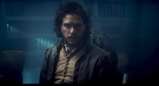Watch the new trailer for the three-part BBC series Gunpowder starring Kit Harington