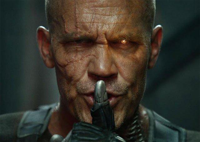 first look at josh brolin as cable in deadpool 2