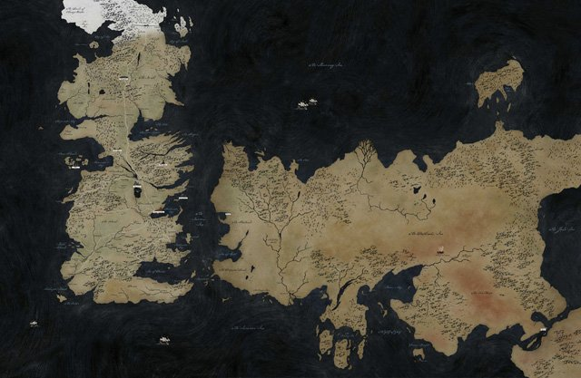 A World of Fantasy: The Best Locations on the Game of Thrones Map