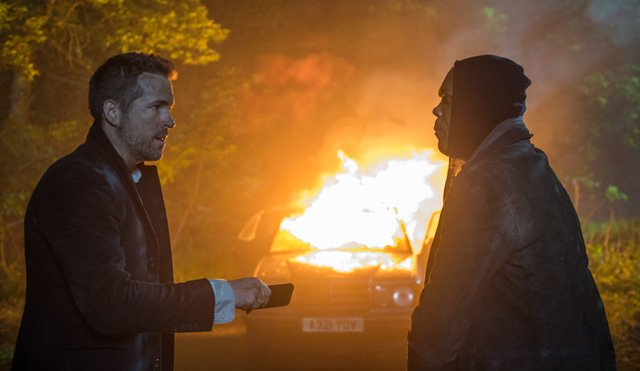 Exclusive Hitman's Bodyguard Photos Featuring Reynolds & Jackson