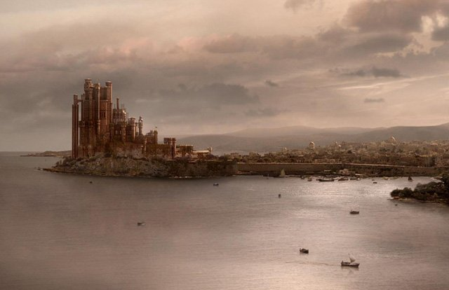 Game of Thrones Map: King's Landing in Game of Thrones
