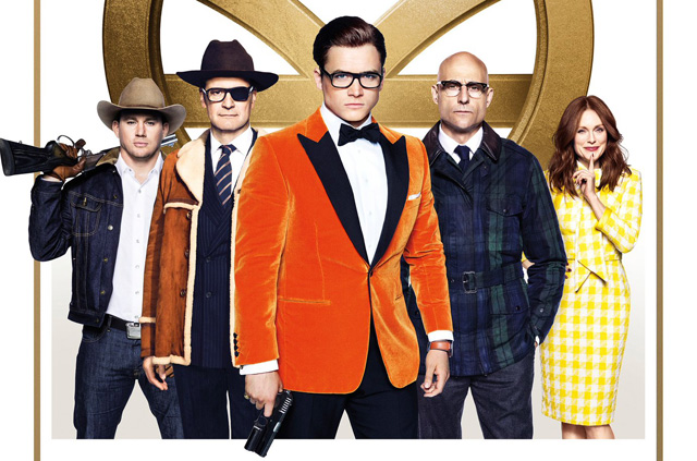 New Kingsman: The Golden Circle Poster Brings the Cast Together