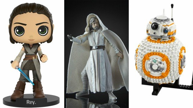 Star Wars: The Last Jedi Action Figures, Funko Pops, and LEGO Products Revealed!
