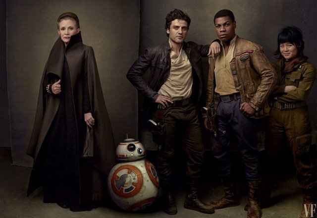 New Star Wars: Episode IX Writer and Boyega on Fisher