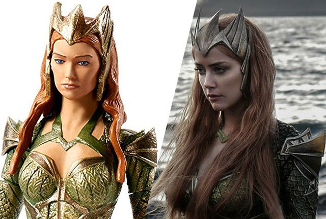 Mera Action Figure is Justice League Movie Accurate