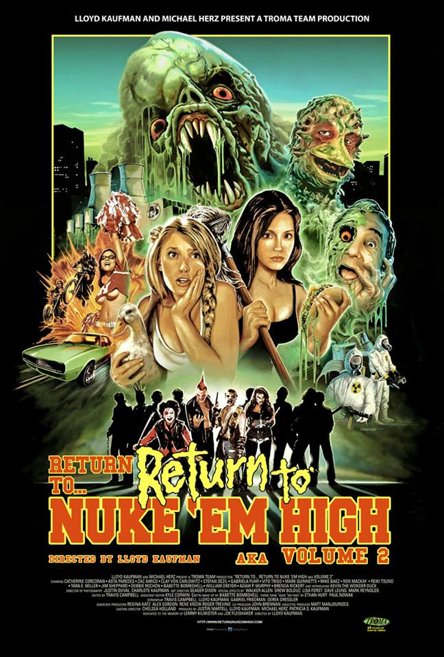 Troma's Class of Nuke Em High Sequel to Premiere in Buffalo