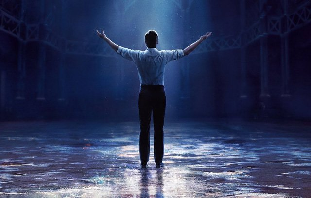 Hugh Jackman is P.T. Barnum in The Greatest Showman Poster