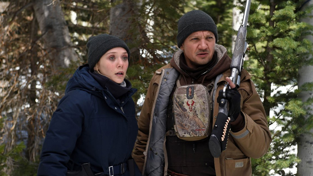 Sit down with the Wind River cast. Wind River stars Elizabeth Olsen and Jeremy Renner.