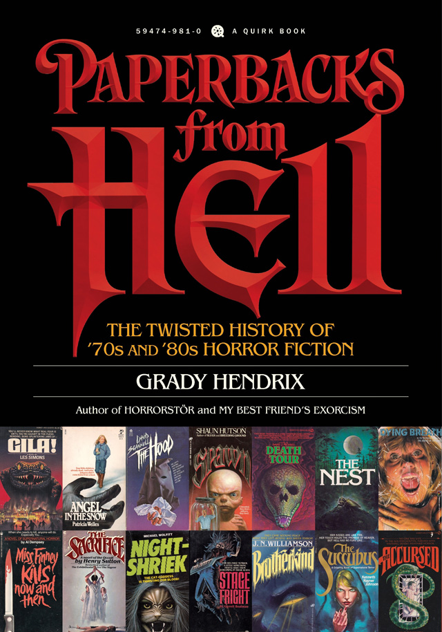 CS Interview: Grady Hendrix Talks Paperbacks from Hell