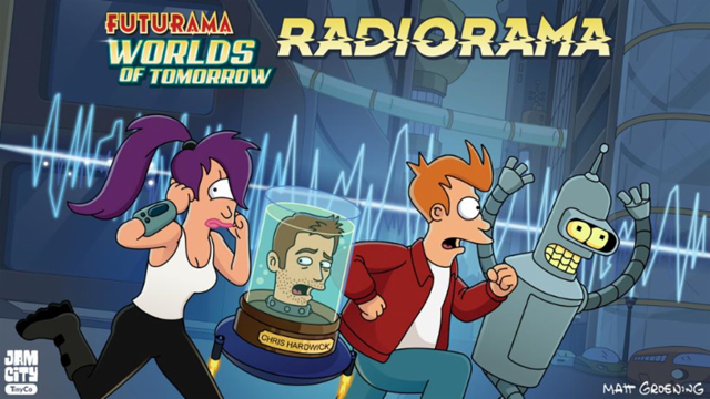 Radiorama: The New Futurama (Podcast) Episode is Here!