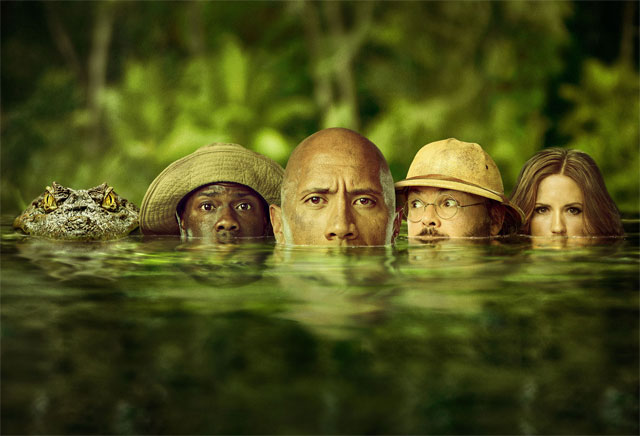 Check Out New Poster For Jumanji: Welcome To The Jungle