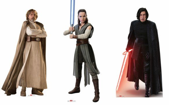 Star Wars: The Last Jedi Character Graphics and Cutouts Debut
