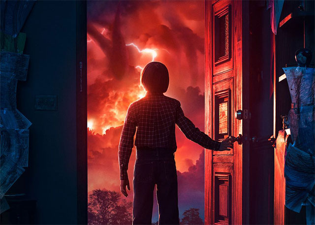 Will Byers is Not Alone in Stranger Things Season 2 Poster