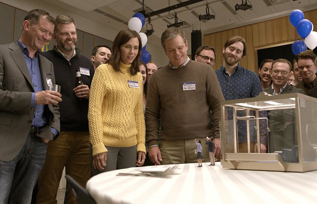 Downsizing trailer shows Alexander Payne's small world