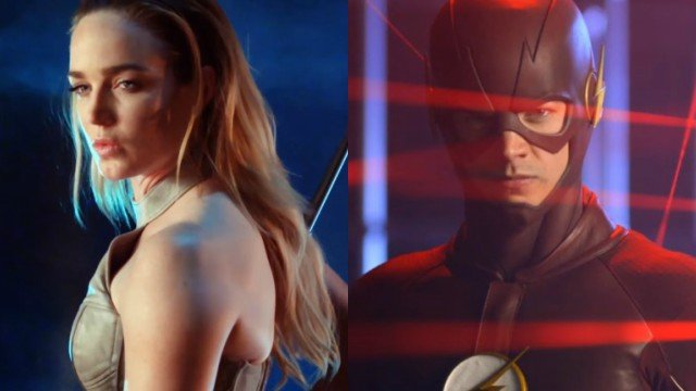 New Flash and Legends of Tomorrow Promos Debut