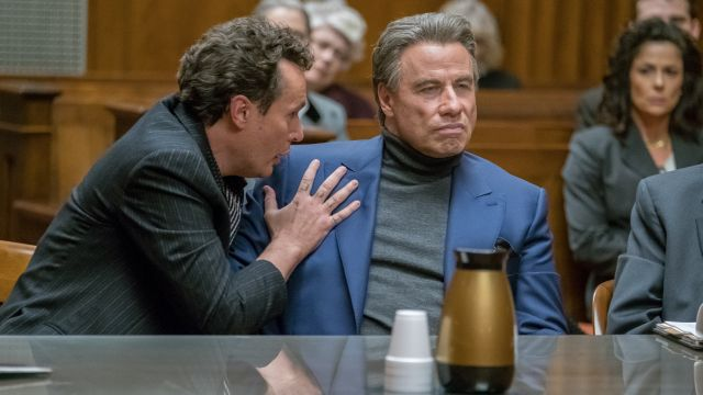 John Travolta plays the Teflon Don in Gotti trailer
