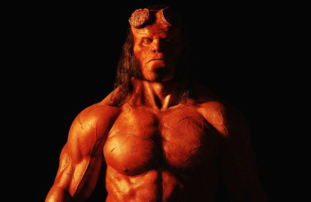 Your First Look at the New Hellboy!