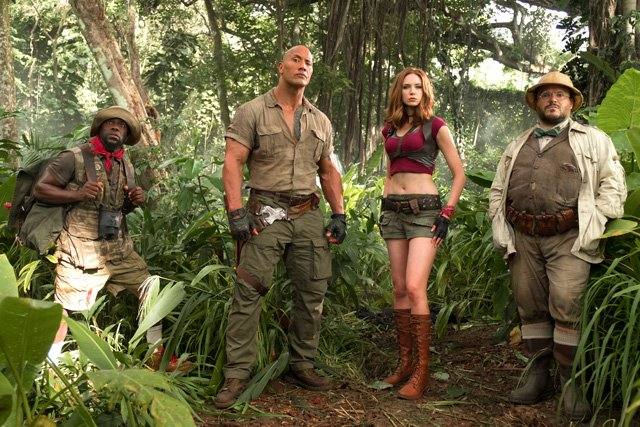 The New Jumanji: Welcome to the Jungle Trailer!