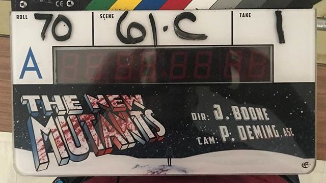 New Mutants Movie Set to Wrap Production This Week