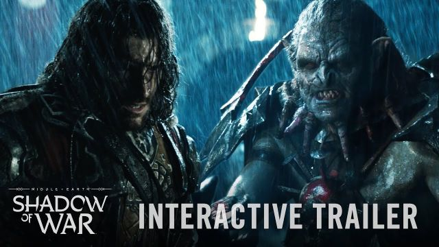 Interactive Shadow of War Trailer Puts the Plot in Your Hands