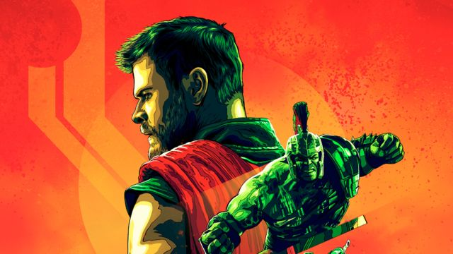 The Stylish Thor: Ragnarok IMAX Poster Arrives Online