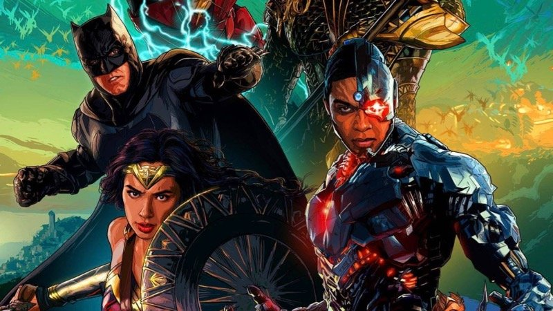 AMC Exclusive Justice League Poster Debuts