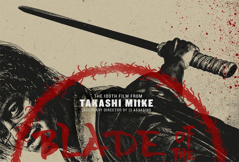 Exclusive Blade of the Immortal Poster for the Takashi Miike Film