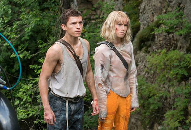 First Chaos Walking Set Photo With Daisy Ridley and Tom Holland