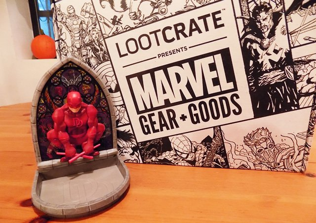 Loot Crate's Marvel Gear + Goods October Unboxing Gallery