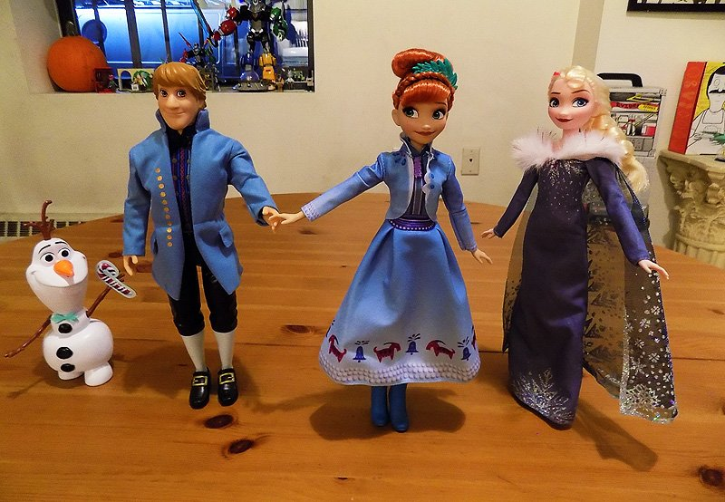 More Olaf's Frozen Adventure Toy Unboxings and Video!