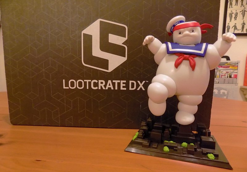 October Loot Crate DX Unboxing Featuring Ghostbusters and More!