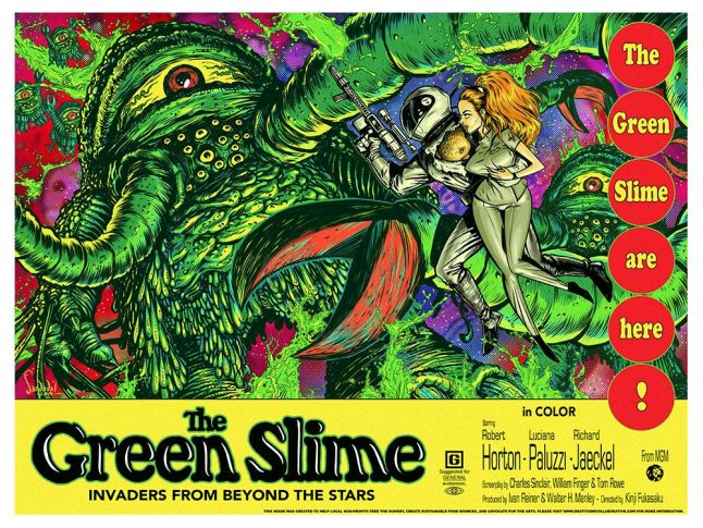 Green Slime Oozes Back From Warner Archive