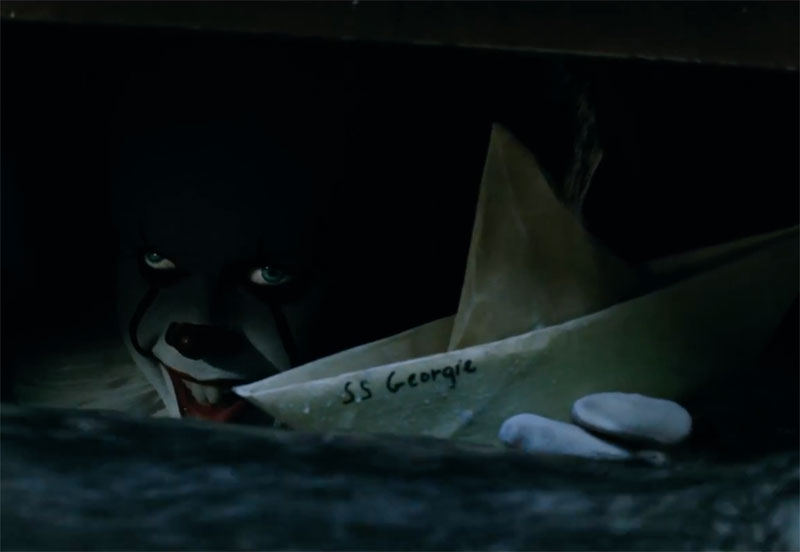Happy Halloween! Watch the Terrifying IT Opening Scene